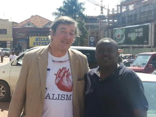 Stephen Fry Meets Simon Kaheru