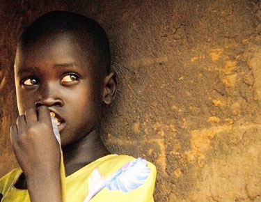 This is the FIRST photograph that Google presents when one searches for 'Ugandan Child'