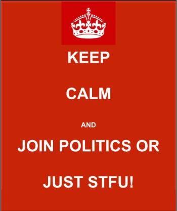Keep Calm & STFU