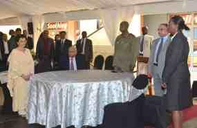 Mukwano & M7 at Launch