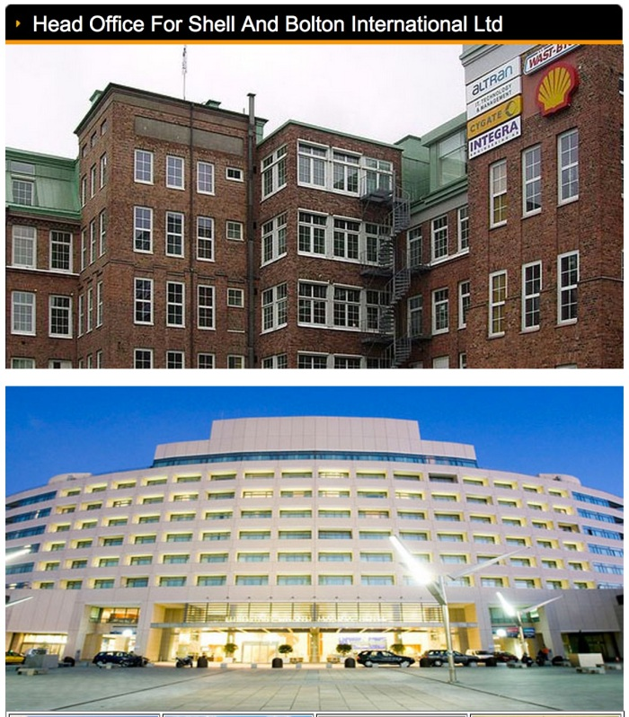 Shell & Bolton Head Office