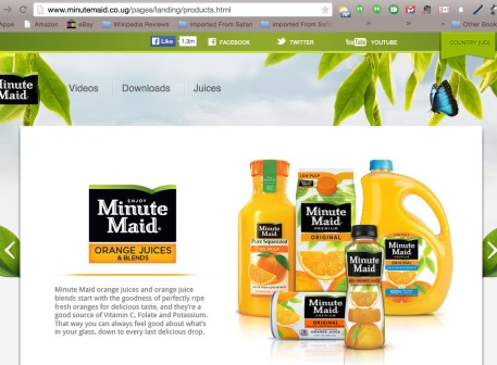 Minute Maid Uganda Products 3