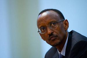 Paul Kagame: Photo from greatlakesvoice.com