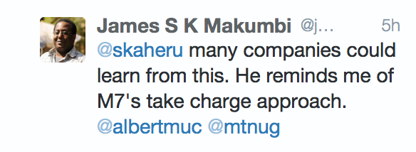 @jmakumbi's Last Tweet On @albertmuc