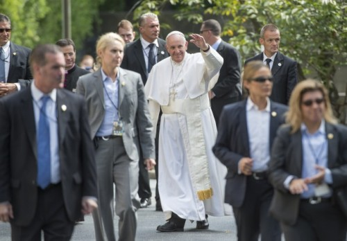 Pope US Security