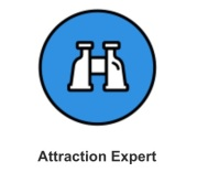 tripadvisor.com Attraction Expert Badge