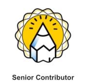 tripadvisor.com Senior Contributor Badge