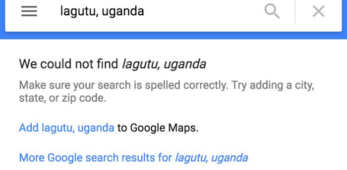 Can't Find Lagutu