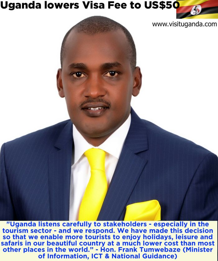 Hon Frank Tumwebaze Visa Fees Lowered