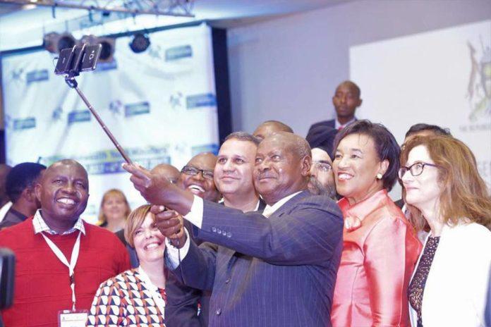 Museveni Selfie