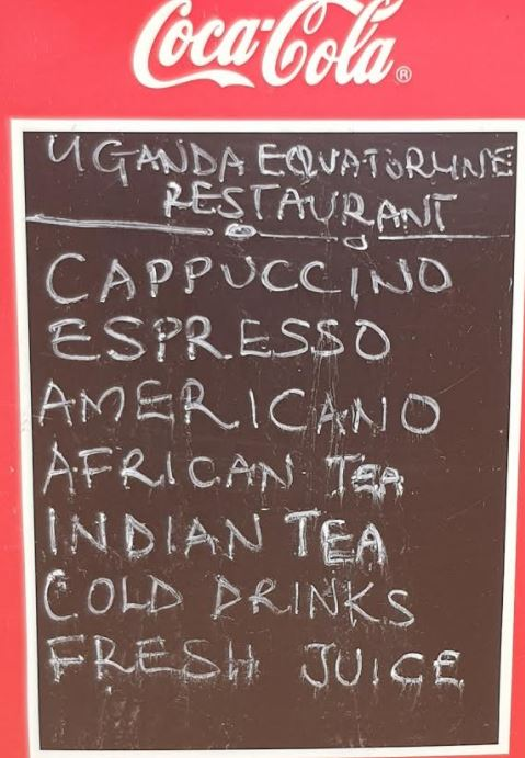 Equator menu