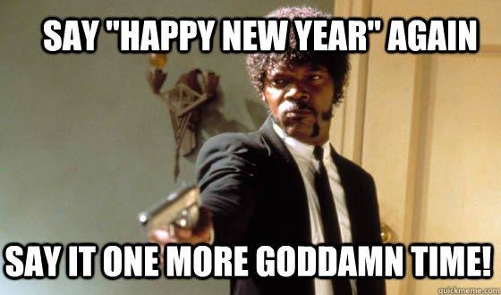 Meme New Year 2018